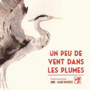 """Affiche """"Un peu de vente dans les plumes"""""""